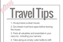 Travel ~ Tips