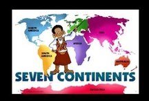 Education ~ Continents/Oceans Theme