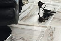 Skyline Polished Collection / Skyline's varying shades of milky snows and cool silvers are destined to be a part of the modernists chic space. With a backdrop of stream-lined tiles or posh mosaics, the collection's appeal lies in its ability to morph and transform any space from bland to electric.