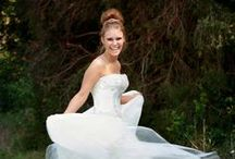Brides / Bride poses for the wedding day / by A. Hurst Photography