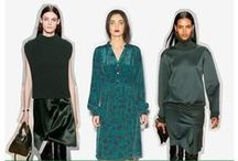 Trend Reports: Green / fall/winter 2013 fashion trends