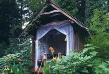 Dream Homes ♥ In the Trees / I Love Tree Houses & Mountain Cabins where You can Experience the Peace and Serenity of Nature ~ My Ideal Dream Home is in the Mountains on the Ocean! / by Michelle Sanchez ~ Dream Biz Coach ~ Pinning Power Profits