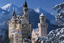 Dream Castles ♥ Palaces / Once Upon a Time...There was a Castle in a Land Far Far Away and there was a Beautiful Princess & Handsome Prince ~ So the Fairy Tale Goes ~ I have Always been Fascinated by Castles / by Michelle Sanchez ~ Dream Biz Coach ~ Pinning Power Profits