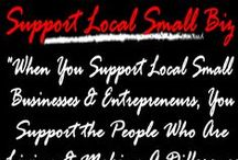 "Small Business Saturday #SmallBizSat #Gifts / Support Your Local Small Businesses on Small Business Saturday and EVERY Day All Year Round! **** ""When you support a local businesses and entrepreneurs, you support the people who are living and making a difference in your community!"" ~Michelle Sanchez Entrepreneur/Owner of DreamBizSuccessNetwork.com ~ Certified Dream Coach ~ Small Biz/Home Biz Coach/Consultant ~ Helping Entrepreneurs Turn Their Passion Into Profit! ~ #SmallBizSat #SmallBiz #ShopLocal #ShopSmall @ShopSmall #Gifts"