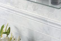 Glacier Honed Marble / Glacier Honed marble from Country Floors is inspired by white capped glaciers with their statement of majesty and spaciousness.The finely honed, matte finish with its precision cut sizes and shapes add an element of beauty, tranquility and individuality to both residential and commercial applications. Enjoy this gift of nature, which has been fashioned by man.