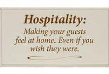 Hospitality- feeling welcomed gifts
