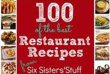 Recipes ♥ Copycat ♥ Restaurant / Copycat Recipes & Copycat Restaurant Recipes