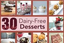 Healthy ♥ Vegan ♥ Dairy-Free ♥ Paleo / Healthy Recipes that are Vegan or Dairy Free! Having a Dairy Allergy (Not an Intolerance) Eliminates a lot of Favorite Foods from your Diet ~ Thankfully there are lots of Healthy Options and Ingredients to Create those Favorite Foods!