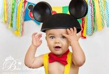 """ENTERTAIN : Mickey Party / Mickey Mouse, Minnie Mouse and the """"Fab 5"""" Disney themed party ideas."""