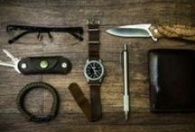 EDC / Everyday carry items ... empty your pockets!!! / by Stan Smith