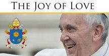 Amoris Laetitia - Joy of Love / The post-synodal apostolic exhortation on marriage and the family by Pope Francis was released on Friday 8th April bearing the signature date of 19 March, the Feast of St Joseph, protector of the family, which was also the third anniversary of the inauguration of his pontificate.  Here are some responses gleaned from various outlets as they unfold.