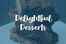 Delightful Desserts / Give your dessert recipes a delicious and healthy boost with Carrington Farms chia seed, flax seed, hemp seed, quinoa, coconut flour, and coconut oil!