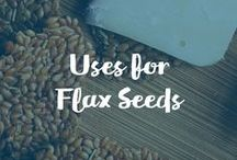 Uses For Flax Seeds / Carrington Farms Organic Milled Flax Seed exceeds all standards of nutritious taste, freshness, and purity.