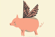 When Pigs Fly / Pig party ideas, pig crafts and foods