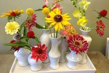 Summer Florals / Seasonal summer flowers for entertaining  and gift giving.