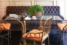 * Interiors - Dining Areas/Breakfast Nooks