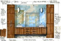 Interior Designers sketches
