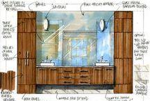 Interior Designers sketches