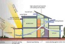House construction / energy saving