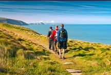 Walking, Cycling & Buses / Walks & Cycle routes, and getting from beach to beach on the Coastal Buses.whilst staying a The Old Swan Inn - Pembrokeshire Holiday Cottage.