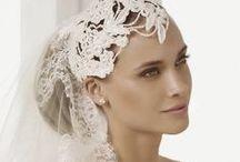 Wedding hair _ headpiece model _@
