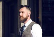 Barbas / Barbas estão na moda, certo? Confira várias inspirações de barbas masculinas!