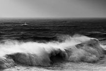 Stormy Seas / One should always respect the sea. Though the smooth summer nights at sea are calm and beautiful, there's something truely captivating about the stormy ones.