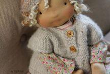 Poupées / Fabrication de poupées Waldorf
