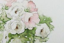 Illustrations / fleurs et fruits