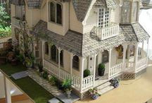 Maison de poupées et miniatures