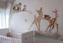 Baby Nursery Bambi Theme