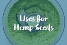 Uses For Hemp Seeds / Carrington Farms Organic Hemp Seeds offers an an excellent nutritional punch!  Hemp seeds, often known as the most nutritious seed in the world, is one of the only plant based foods considered a complete protein