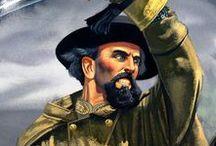 The American Civil War /  People, uniforms, weapons, battle