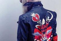 Leather jacket diy