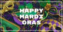Mardi Gras / From decorations, food, to outfits, we have your perfect Mardi Gras party planned for you!