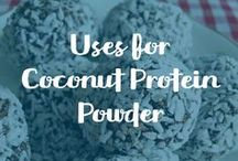 Uses for Coconut Protein Powder