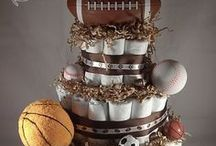 Diaper Cakes / Diaper cakes, the perfect baby shower gift. Tutorials, DFY and DIY cakes. Girl diaper cakes and boy diaper cakes.