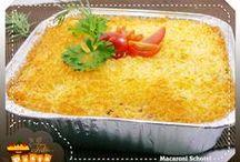 D'licious Pasta / Spaghetti Bolognese, Macaroni Schotel, Italian Herb Roasted Chicken, etc
