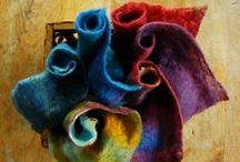 Felting. Art objects