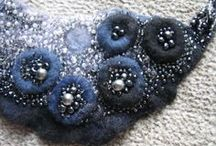 Felting. Jewelry