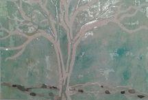 I miei alberi / Tutte le mie opere sono coperte da copyright, in nessun modo si possono riprodurre senza il mio consenso scritto.