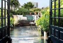 stresni terasa s vyhledem