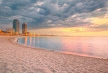 Barcelona beaches / It's no wonder that Barcelona is such a popular summer destination, you have the culture of a city with the enjoyment of the beach!