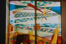 Vetro materia sublimata / Vetri d'arte, miei e di artisti, antichi e di maestri vetrai, moderni e non...