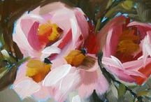 PAINTING. FLORAL THEME