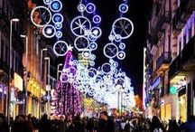Christmas in Barcelona / The most beautiful pictures of the streets and places of the city