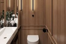Bathroom / Bathroom ideas, inspiration, designs and styling. Examples of casual, authentic or unique casual bathrooms! I find that if a bathroom is beautifully done, designed and styled, it can have a calming effect on you.