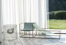 Curtains / Mesmerising fabrics & curtains. Inspiring ideas for design projects and interior styling.