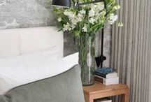 Bedroom / Bedroom ideas, inspiration, designs and styling. The stuff of dreams! Ideas and designs that can create a feeling of a sanctuary inside your space.