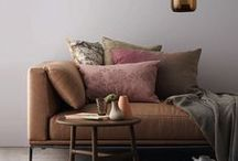 Sofas & Living Rooms / Designs and inspirations - styling living rooms with sofas. Different sizes, different styles, different fabrics, different quirkiness! Love them all or none of them!
